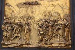 Ghiberti doors, detail (Moonchild Silverdream) Tags: santa italy del florence maria ponte firenze piazza duomo della michelangelo fiore palazzo pitti piazzale vecchio uffizzi signoria novella