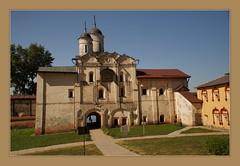 Church of Transfiguration with Water Gates (Sergei P. Zubkov) Tags: russia july monastery orthodox region vologda 2013 kirillov kirillobelozersky