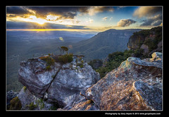 Megalong Valley, Blue Mountains, EOSM 1746 (Gary Hayes) Tags: sunset sydney australia bluemountains megalongvalley
