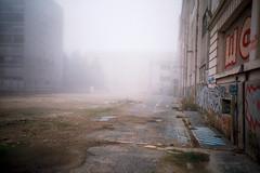 Day of the Dead (01) - Paris 2013 (romain@pola620) Tags: urban paris film fog analog 35mm dayofthedead smog lomo lca lomography decay creepy urbanexploration disused analogue derelict brouillard apocalyptic argentique wasteland endoftheworld urbex postapocalyptic 800iso pellicule urbanwasteland lomo800
