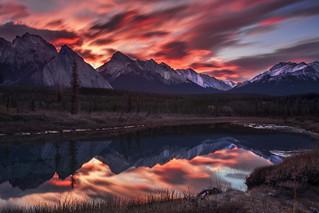 sunrise-Kootenay plains