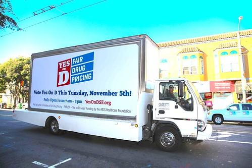'Yes on D' Backers Cheer Landslide Win on San Francisco Drug Pricing Measure