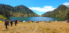 Ranu Kumbolo, Mt.Semeru, Indonesia (kitring) Tags: mountain beautiful canon indonesia landscape photography eos hiking adventure semeru ranu kumbolo 60d