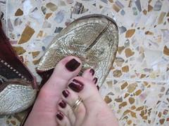 DSCF2341 (sandalman444) Tags: color male feet long sandals nail pedicure care toenails pedicured toerings mensfeet