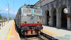 E652-133 (Simone Menegari) Tags: train merci terminal stazione lugo treno tigre fs ferrovia locomotiva locomotore e652 domegliara