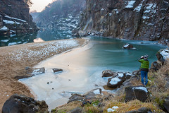 Geoseokjeong Valley, Cheorwon, South Korea (DMac 5D Mark II) Tags: travel winter snow tourism ice nature landscape border southkorea dmz zone kto demilitarized 2013 cheorwon