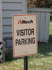 Visitor Parking Sign | Signarama Lexington, KY | Alltech