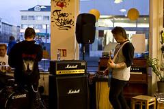 Trust the lies @ Lucky Records (breakbeat) Tags: music festival iceland reykjavik icelandic luckyrecords airwaves13 icelands6564