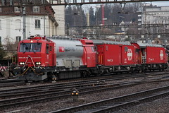 SBB Lsch- und Rettungszug LRZ am Bahnhof Winterthur im Kanton Zrich in der Schweiz (chrchr_75) Tags: train de tren schweiz switzerland suisse suiza swiss eisenbahn railway zug sbb sua locomotive christoph dezember svizzera bahn treno schweizer chemin centralstation sveits fer locomotora tog juna lokomotive lok sviss ferrovia zwitserland sveitsi spoorweg suissa locomotiva lokomotiv ferroviaria lsch  locomotief chrigu  lrz szwajcaria rautatie 1312   2013 bahnen lschzug zoug trainen  chrchr rettungszug hurni chrchr75 chriguhurni chriguhurnibluemailch dezember2013 albumbahnenderschweiz2013712 hurni131224