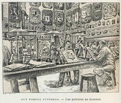 Paris Ignoré 1893.pompes funèbres cimetières,ill k