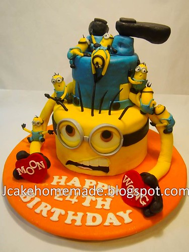 Minion Happy Birthday Cake Minions Birthday Cake a
