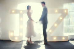 . (LauraKiora) Tags: wedding blur london zoe groom bride jim