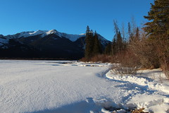 Vermillion lakes Banff Alberta Canada (davebloggs007) Tags: canada sunrise lakes alberta banff vermillion