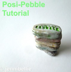 Posi-pebbles Tutorial (Jennibellie) Tags: art stone artwork paint artist acrylic painted pebble affirmation positivity jennibellie