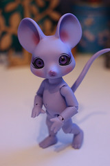 Molaire (Lucy-Loves?) Tags: cheese mouse doll lilac bjd anthro molaire pipos