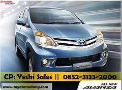 Toyota Malang New Avanza 2014 (Yezki) Tags: auto new 2000 toyota malang baru 2014 harga avanza sutoyo