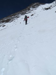 Climbing to the UPAME summit (6800m) of Pissis