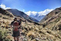 Inca Trek to Machu Picchu (steveuttley) Tags: peru inca trek walking hiking cusco climbing valley sacred andes machupicchu urabamba wayna winay winawayna scredvalley