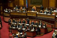 Dichiarazioni programmatiche al Senato