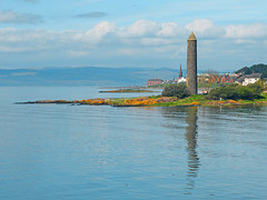 Reflecting Pencil (g crawford) Tags: sea reflection water pencil clyde seaside reflect viking crawford ayrshire largs bythesea firthofclyde northayrshire ayrshirecoast
