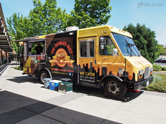 The Ultimate Melt Food Truck (gapey) Tags: olympus 12mm brie grilledcheese omd redmondtowncenter rtc foodtruck em5 rtccampuseats theulitimatemelt