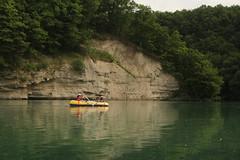 Schlauchboot ( Gummiboot ) auf der Rhne ( Fluss - River ) oberhalb Satigny im Kanton Genf - Genve in der Schweiz (chrchr_75) Tags: chriguhurnibluemailch christoph hurni schweiz suisse switzerland svizzera suissa swiss chrchr chrchr75 chrigu chriguhurni hurni140603 juni 2014 albumrhone rhone rhne fluss river wasser water gummiboot gummiboote schlauchboot boot jolle dinghy boat jolla canot  sloep bote schlauchboote albumschlauchbootegummibooteunterwegsinderschweiz 1406 juni2014 albumrhne albumrhneflussriver