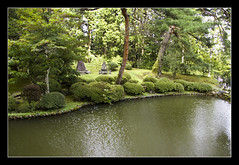 Rinnō-ji @Nikko, Japan (brunombo) Tags: travel trees lake verde green water grass japan alberi lago pond pentax erba nikko tamron acqua viaggio giappone stagno tamronaf18250mmf3563diiildasphericalifmacro justpentax rinnōji