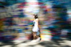 Lennon Wall (fabio.username) Tags: colours praga pan panning colori lennonwall mosso