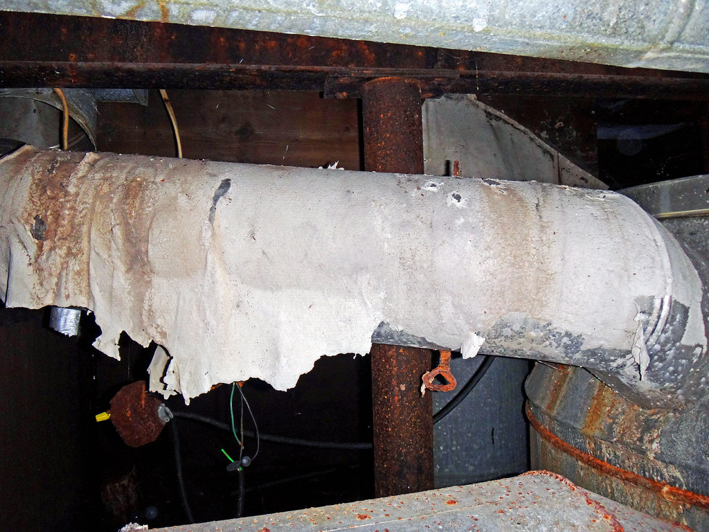 The world 39 s best photos of asbestos and duct flickr hive for Basement insulation wrap