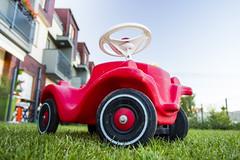 Vintage Toy Car (Piotr Kowalski) Tags: car vintage toy kid child zabawka samochodzik jedzik