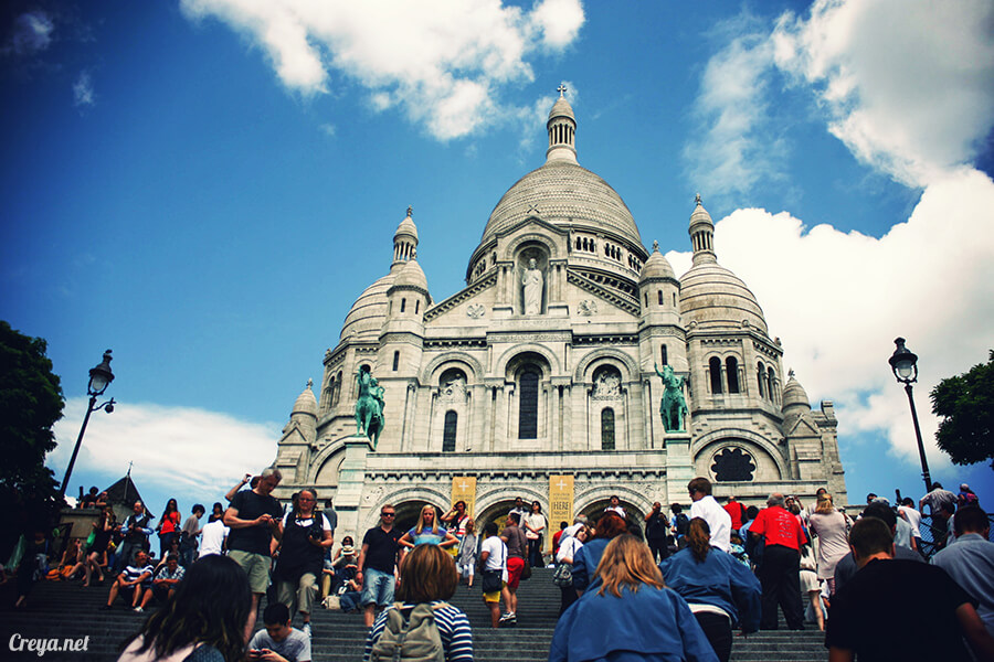 2016.10.02 ▐ 看我的歐行腿▐ 法國巴黎一日雙聖,在聖心堂與聖母院看見巴黎人的兩樣情 09
