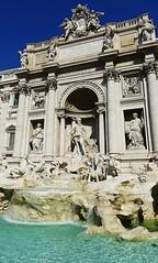 Trevi Fountain (Great!) Tags: italy rome trevifountain itali trevifontein piazzaditrevi barok neptunus