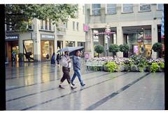Munich in Rain (Maple&Maple) Tags: nikon f3 film ais 50mm 18 f18 imacon flexlight scanner kodak ektar iso100 analog hasselblad