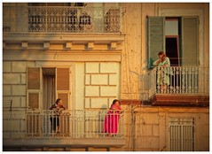 gossip ! (kurtwolf303) Tags: fassade women frauen klatsch tratsch gossip haus gebude building balkone balcony olympusem1 omd microfourthirds micro43 systemcamera people unlimitedphotos facade streetphotography strasenfotografie topf25 250v10f topf50 mirrorlesscamera spiegellos topf75 500v20f 800views topf100 flickrelite kurtwolf303 900views 1000v40f topf150 1500v60f