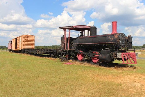 Train in Marianna Parks and Recreation Dept 1