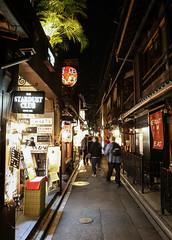 IMG_0976 (Jeff Amador) Tags: kyoto japan pontocho night street