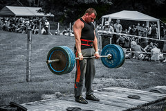Powerlifting at Luss Highland Games 2013 (FotoFling Scotland) Tags: argyll event lochlomond powerlifting scotland deadlift highlandgames luss lusshighlandgames