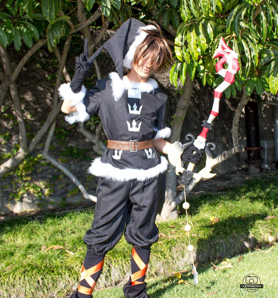 Sora Christmas Town Cosplay.The World S Best Photos Of Christmastownsora And
