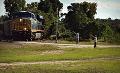 Railfans (builder24car) Tags: railfanning benchingthefreights railfans locomotive csx csx741 es44ach hamletnorthcarolina