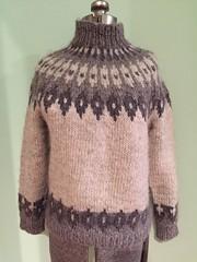 Icelandic turtleneck sweater (Mytwist) Tags: wildrugosa vtg 70s hand knit turtleneck sweater chunky nordic icelandic ski ice wool style fetish love rollneck vouge