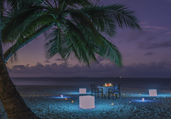 Destination Dining (Furaveri Island) Tags: maldives honeymoon romantic romance wedding bliss relax menu cuisine candle light dinner luxury dining destination book enjoy timefortwo private candlelightdinner beach ocean candles palm trees waves sea breeze