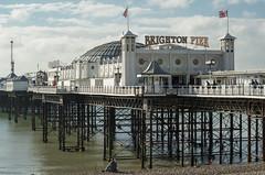 Brighton Pier (grahambrown1965) Tags: brighton sea pier brightonpier palacepier sussex flag flags pentaxk5iis pentax k5iis 55300mm hdpentaxda55300mmf458ed hdpentaxda55300mmf458edwr