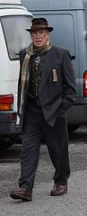 DSC_0322a (robindefoe2009) Tags: nymr wartime weekend 1940s heritage steam railway north yorks moors pickering levisham le visham goathland grosmont whitby stockings military reenactment reenactors
