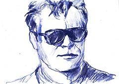 PROYECTO 132-116 (GARGABLE) Tags: angelbeltrán apuntes sketch madrid portrait retrato drawings dibujos bocetos gargable