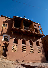 Ancient house in zoroastrian village, Natanz county, Abyaneh, Iran (Eric Lafforgue) Tags: 0people abyaneh adobe ancient architecture attraction balcony bricks building clay colorimage colourimage culture day destination historic historical history home house iran middleeast mudbrick natanz natanzcounty nopeople nobody old outdoors persia persian red redvillage reddish tourism touristic traditional travel vertical village wooden zoroastrian ir
