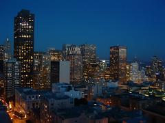 Blue San Francisco (Thomas Hawk) Tags: 555californiastreet america california financialdistrict sanfrancisco transamericabuilding usa unitedstatesofamerica architecture downtown fav10 fav25 fav50