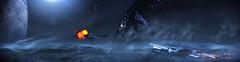 Reaper Attack on Palaven's Moon (MrKeron) Tags: masseffect3 mass effect 3 palaven turian homeworld reaper normandy commander shepard garrus vakarian