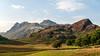 Langdale Pikes from Blea Tarn (Lake District September 2016 #12) (Lazlo Woodbine) Tags: langdale langdalepikes bleatarn nationalpark nationaltrust cumbria pentax k7 1855mm hdr lightroom countryside britishcountryside britain thelakedistrict thelakes mountain mountains hills september 2016 uk england coutryside