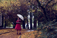 SDF_5695 (SendoFu) Tags: bonnet ボンネット エプロン風スカート blouse bl ブラウス headbow kc カチューシャ bnt 蕾絲 維多利亞 jsk op onepiecedress ワンピース jumperskirt ジャンパースカート nop lolita lolitafashion 蘿莉塔 蘿莉塔時裝 ロリータ・ファッション sweetlolita classicallolita