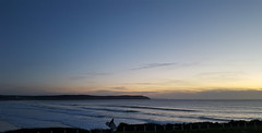 Woolacombe - October 2016 (17) (Droitwich Dwellers) Tags: woolacombe devon northdevon twitchenpark mortehoe beach atlantic ocean sand atlanticocean woolacombebeach sea dusk surfboard surfers surfer